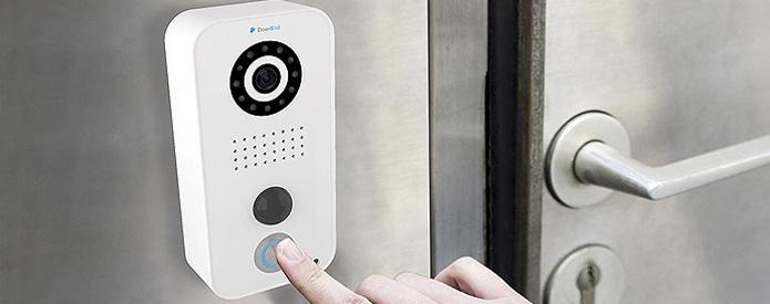 Control-it Services Home Security Door Bird Ring