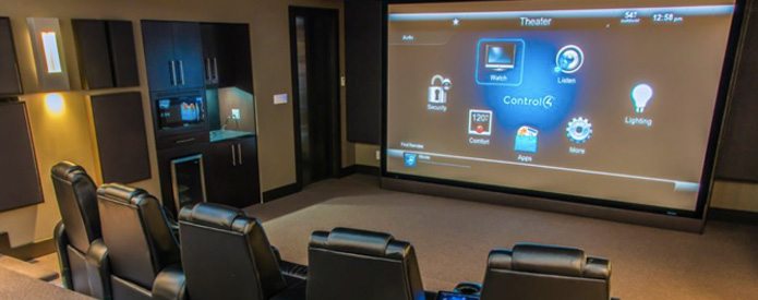 Control-it Services Home theater