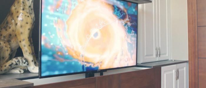 Nexus 21 Motorized TV mount